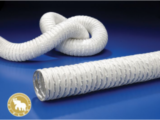 J 6-2 ALUMINUM FOIL AND FABRIC AIR HOSE